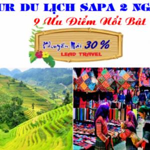 Chùm Tour du lịch sapa 2 ngày 1 đêm Khuyến Mại