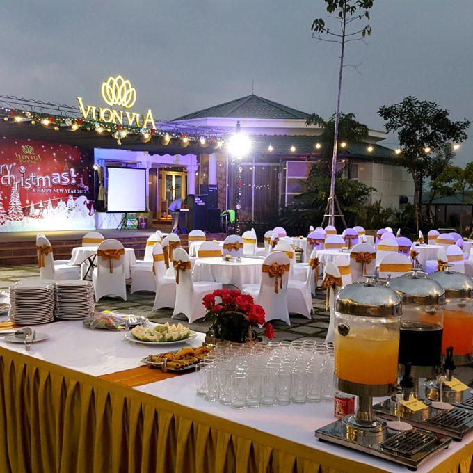 Vườn Vua Resort & Villas Phú Thọ Tiệc Ngoài Trời