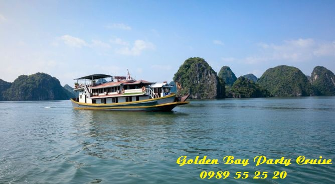 Golden Bay Party Cruise Hạ Long