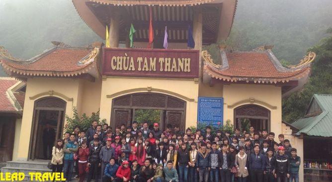 du lịch Lạng Sơn 1 ngày Chùa Tam Thanh