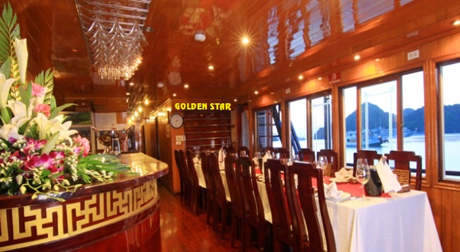 Nha-hang-du-thuyen-Golden-Star-Cruise