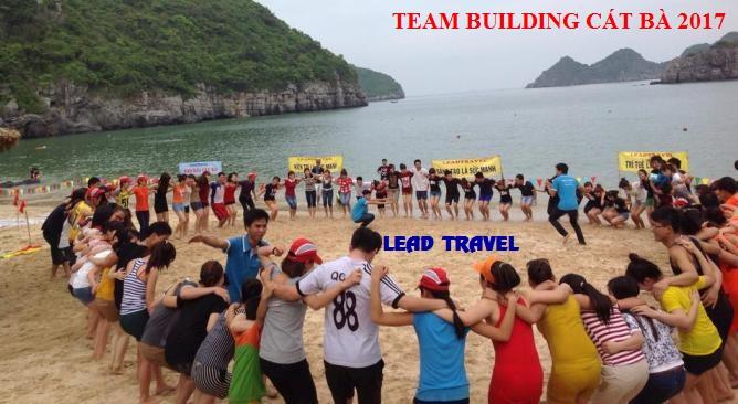 Tour du lịch Cát Bà 2 ngày 1 đêm Team building