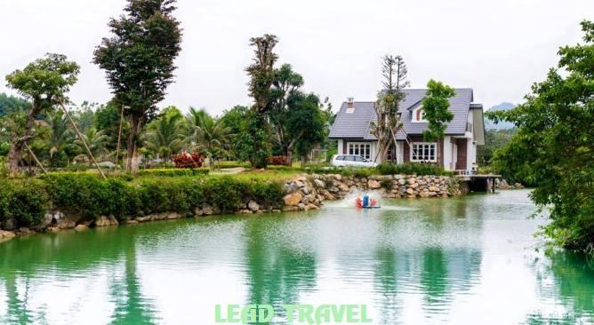 Làng Sỏi in Farm Resort Hòa Bình