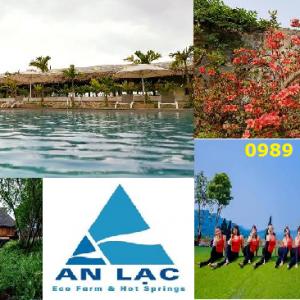 Tour du lịch An Lạc Resort Hòa Bình 2 ngày 1 đêm