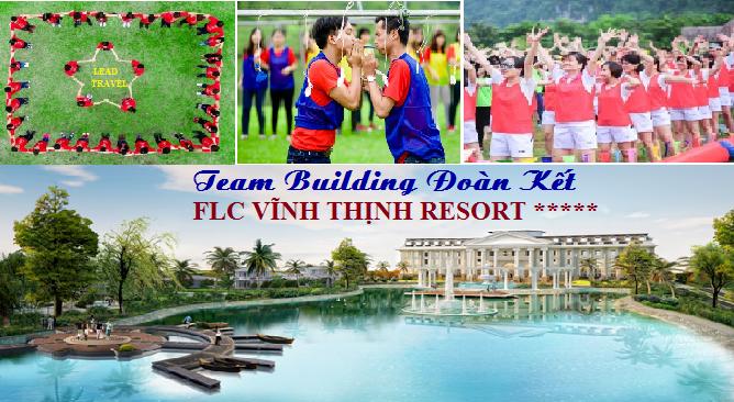 Tour du lịch FLC Vĩnh Thịnh Resort 1 Ngày Team Building