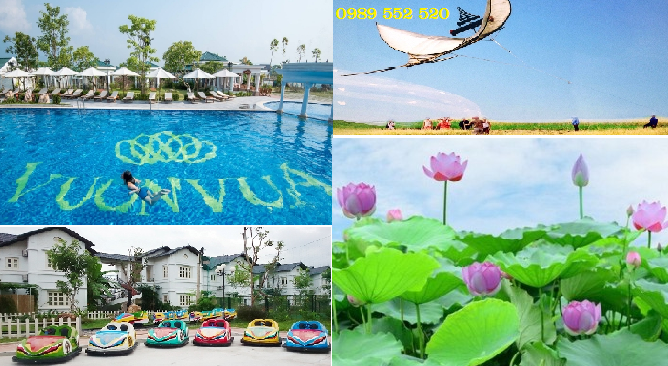 Vườn Vua Resort Thanh Thủy Phú Thọ