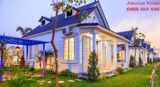 biệt thự Jusmine làng châu âu Vườn Vua Resort