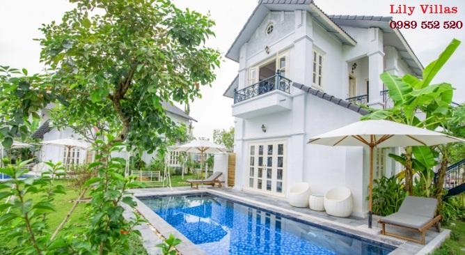biệt thự Lily làng châu âu Vườn Vua Resort