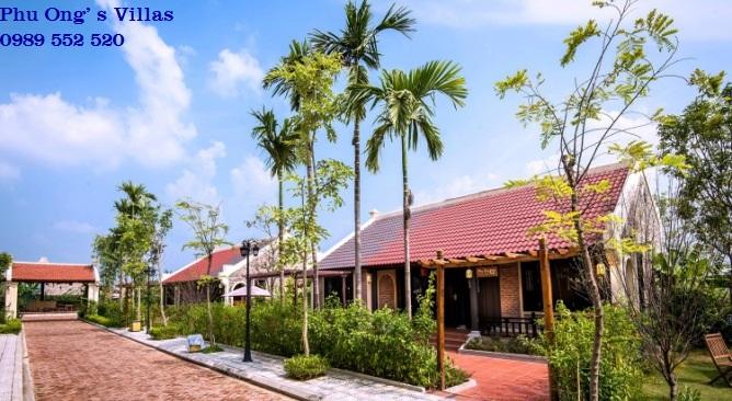biệt thự phú ông Vườn Vua Resort