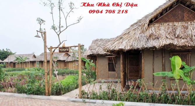 nhà chị dậu Vườn Vua resort
