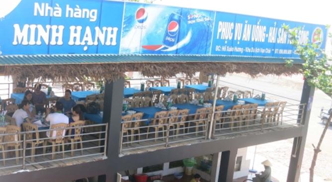 nhà hàng tại Sầm Sơn