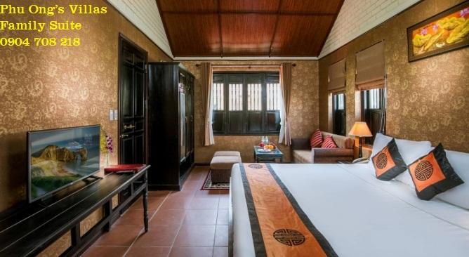 phòng biệt thự phú ông Vườn Vua Resort
