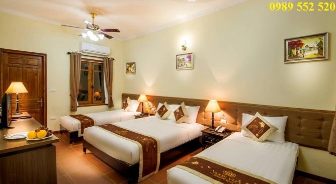 phòng khách sạn phố cổ Vườn Vua Resort
