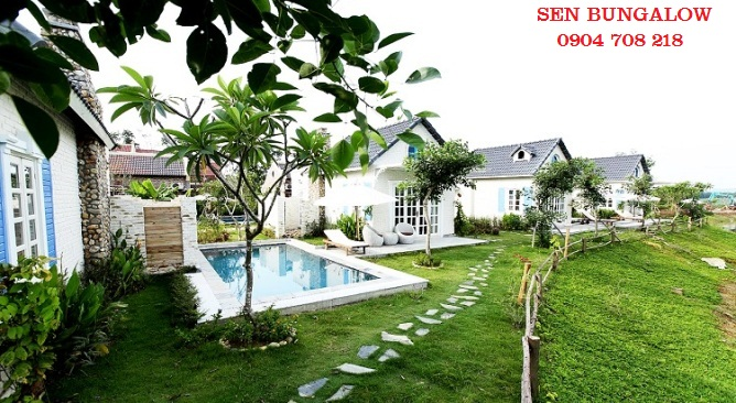 sen bungalow Vườn Vua Resort