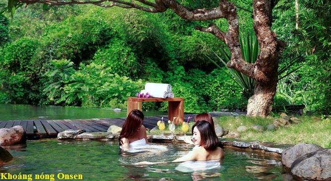 tắm khoáng nóng oonssen Serena Resort