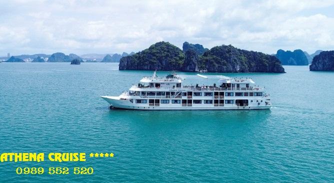 Du thuyền Athena Cruise Hạ Long