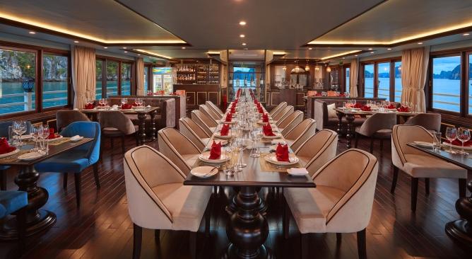 nhà hàng Du thuyền Athena Cruise Hạ Long