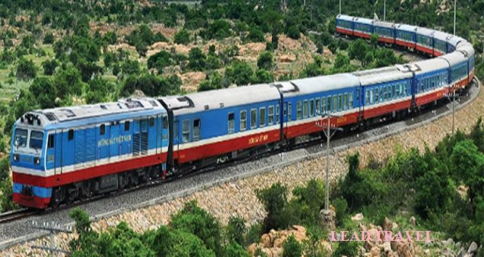 đi tàu hỏa từ Hà Nội vào Sài Gòn