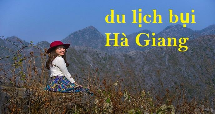 đi du lịch bụi Hà Giang