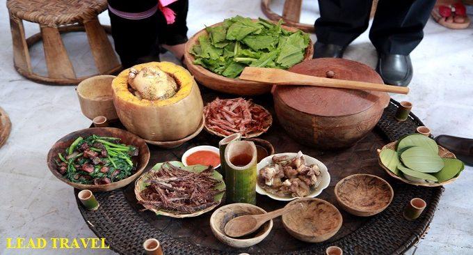 Mâm cỗ Hà Giang