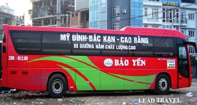 Xe đi Cao Bằng từ Hà Nội