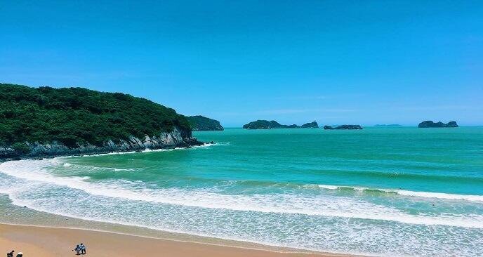 bãi biển Hải Phòng
