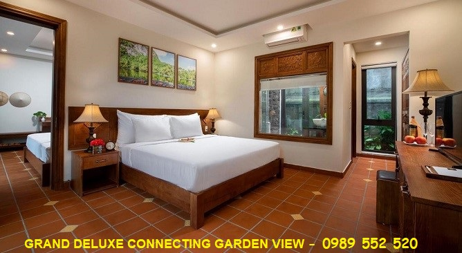 grand deluxe connecting garden view Bái Đính Garden Resort