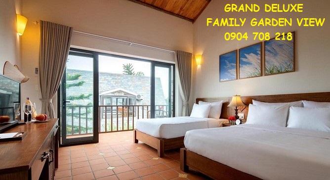 grand deluxe family garden view Bái Đính Garden Resort