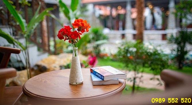 phòng deluxe pool view Bái Đính Garden Resort & Spa Ninh Bình
