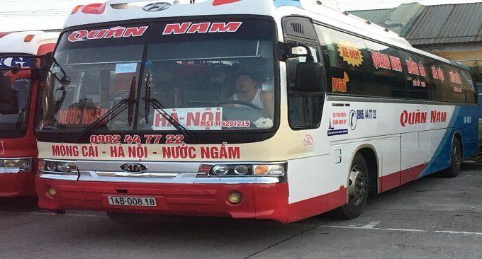 xe Hà Nội Móng Cái