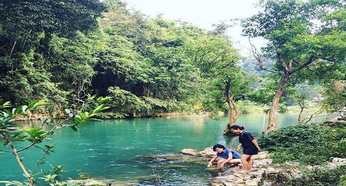 du lịch hồ Ba Bể thác Bản Giốc