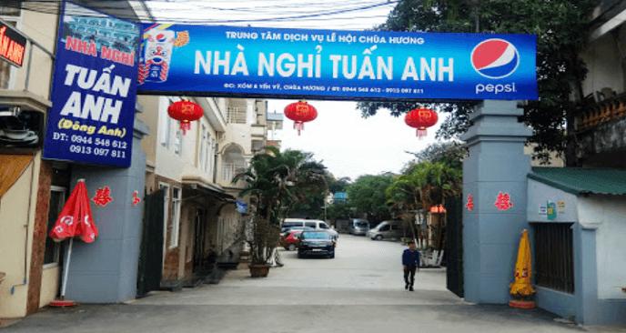 nhà nghỉ Tuấn Anh chùa Hương