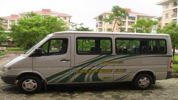 thuê xe 16 chỗ đi Chùa Hương