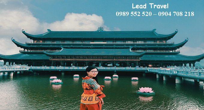 đi chùa Tam Chúc mùa hè