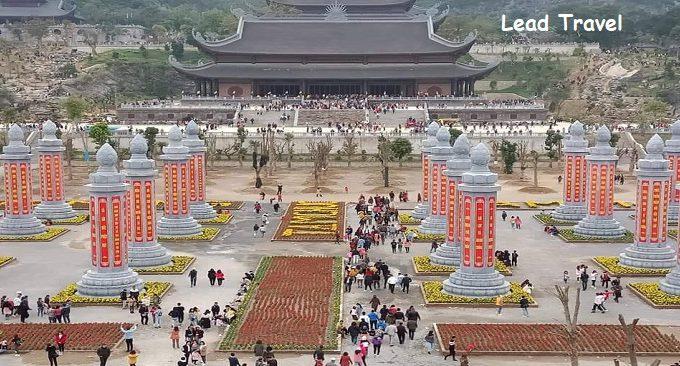 đi chùa Tam Chúc mùa xuân