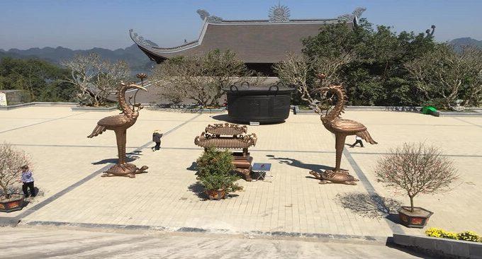 Diện tích chùa Tam Chúc