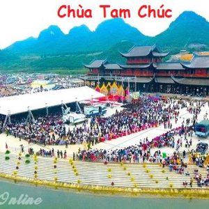 du lịch chùa Tam Chúc