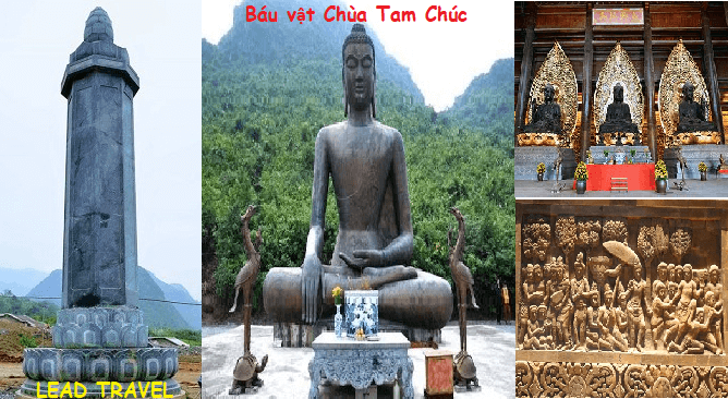 du lịch chùa Tam Chúc Hà Nam chiêm ngưỡng báu vật chùa Tam Chúc