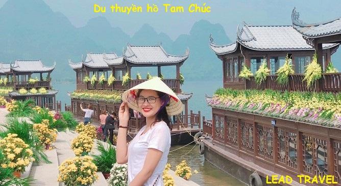 du lịch chùa Tam Chúc Hà Nam du thuyền hồ Tam Chúc