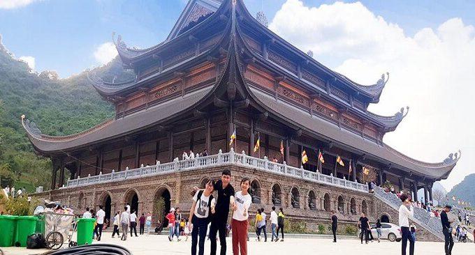 đường đi đến chùa Tam Chúc