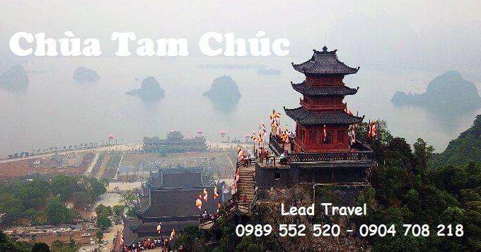 giá vé xe điện chùa Tam Chúc