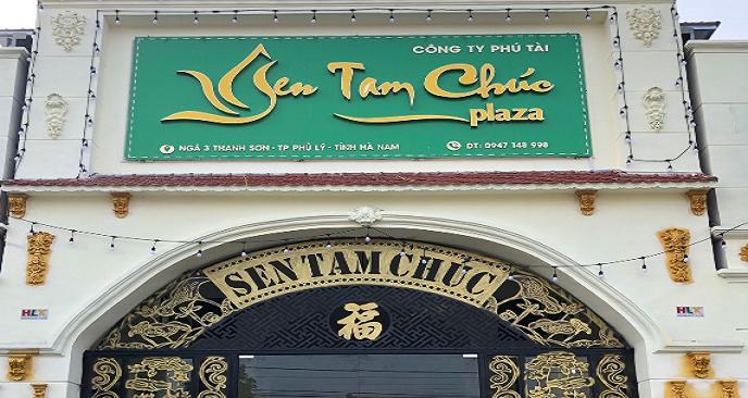nhà hàng Tam Chúc