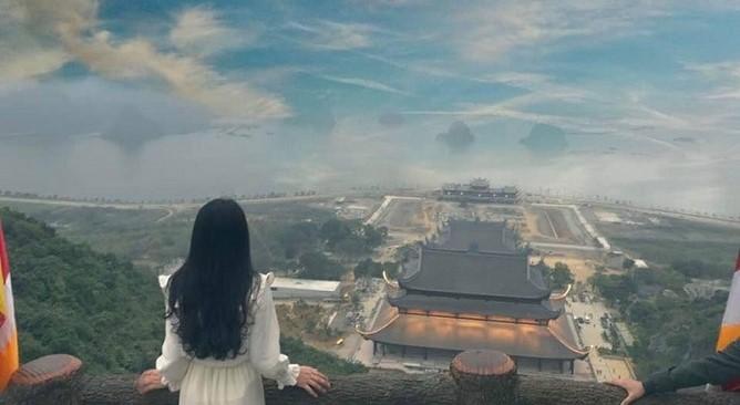 toàn cảnh chùa Tam Chúc
