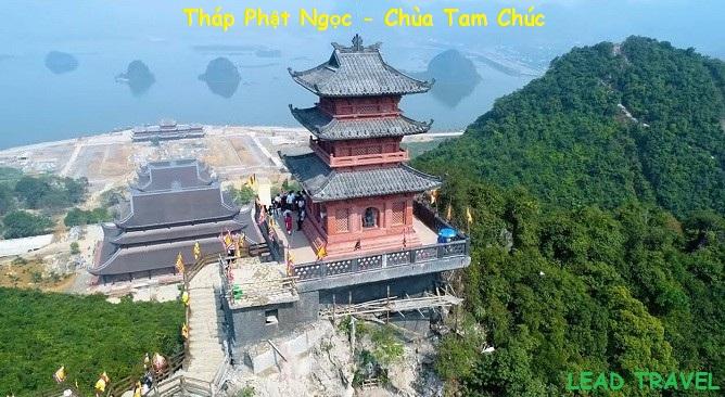 Tour chùa Tam Chúc Hà Nam chiêm ngưỡng Chùa Ngọc
