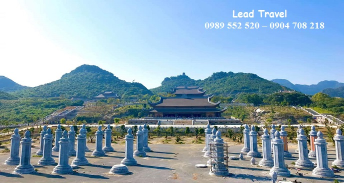 vé vào chùa Tam Chúc
