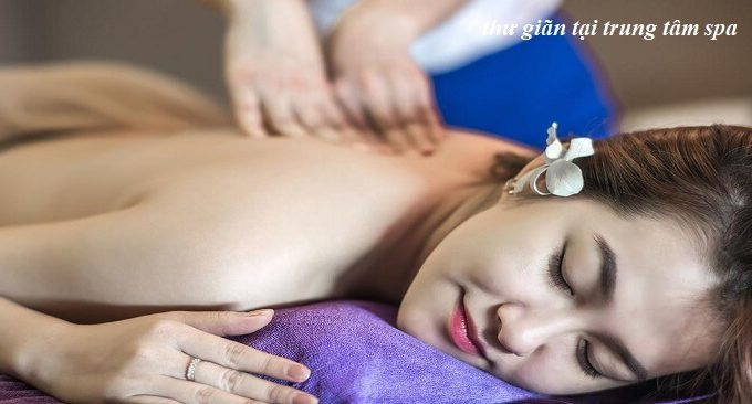 dịch vụ spa - masaage