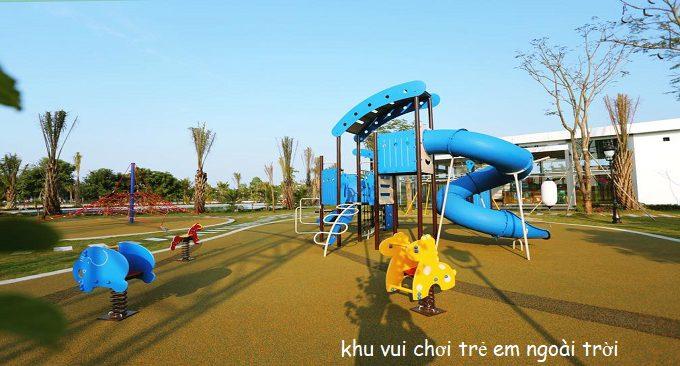 khu vui chơi trẻ em ở bungalow flc vĩnh phúc