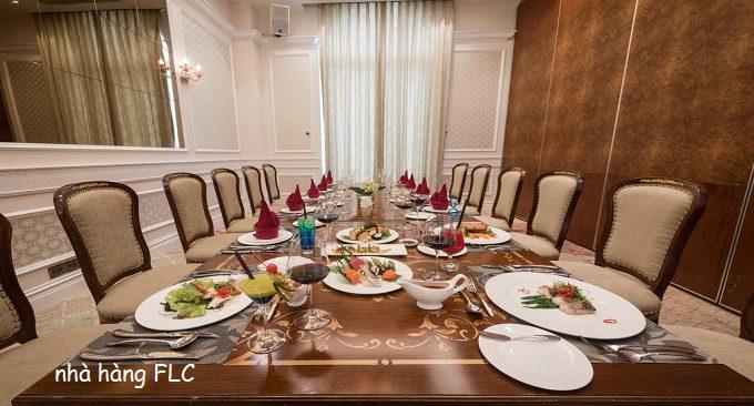 khu nhà hàng FLC Vĩnh Phúc