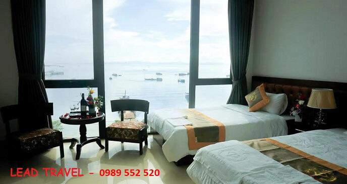 khách sạn đẹp ở cô tô