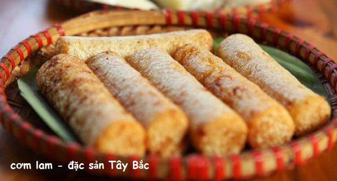 thưởng thức đặc sản cơm lam